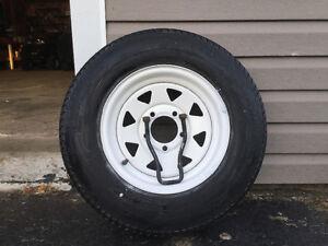 "Utility Trailer Wheel 13"""