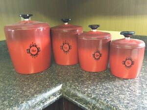Vintage West Bend Canister Set
