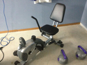 Low Ride Exercise Bike