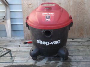 8 Gallon Shop Vac with Attachments $ 35.00