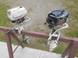 2 Old McCulloch Outboard Motors