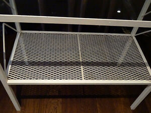 SHABBY wrought iron hallway console table stand ENGLISH baby's Cambridge Kitchener Area image 4