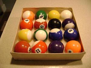 Set of Billiard Balls