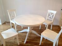 IKEA Dinning Table(Extendable) Almost New