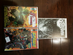 Spawn 220 Variant Covers B, C and SPECIAL