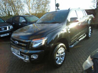2012 62 Reg Ford Ranger 3.2TDCi (200PS) (EU5) 4x4 Wildtrak Double Cab NO VAT 62K