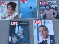 Old  LIFE MAGAZINES   (collectors items)
