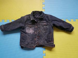 Boy size 4t fall jean jacket