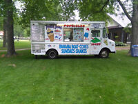 ICE CREAM TRUCK RENTAL 1HR 2HRS OR WHOLE DAY