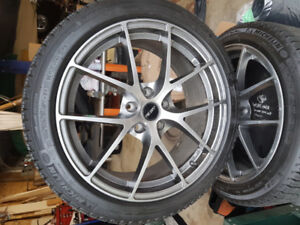 Winter tires and rims for a 2017 Nissan Sentra