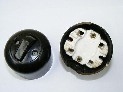 Old Bakelite Wall Light Switch Switch Ap Toggle Switch, Loft Design,