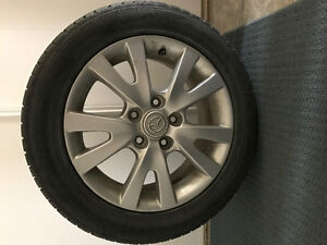 *** 4 Mazda Wheels with All Weather Tires ***