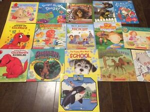 Lot of 16 Scholastic Softcover Kids Books - Great condition!