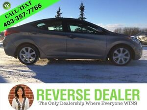 2012 Hyundai Elantra Limited  Limited! Leather! Heated Front  Re