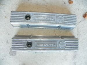 GM aluminum valve covers