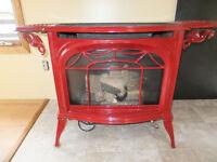 free standing propane stove