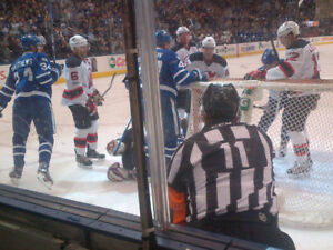 Leafs vs BOSTON BRUINS MONDAY REDS Sct 112 row 21 (a pair)