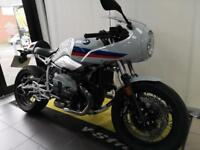 BMW R NINE T CAFE RACER PRISTINE BIKE WITH ONLY 2970 MILES ON THE CLOCK