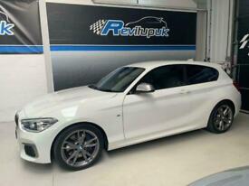 2017/67 BMW 140i M SPORT + AUTO + 3 DOOR + 340BHP + ONLY 16K MILES FSH S3 M3 RS
