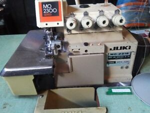 Industrial sewing machines and surger