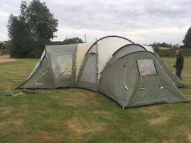 Outwell Hartford XL tent sleeps 8