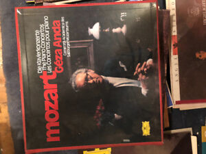 Vinyl record collection Classical