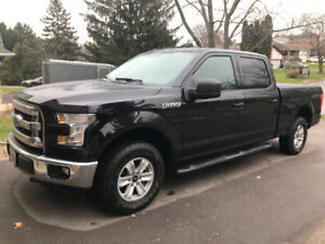 "2017 Ford F-150 4X4 SuperCrew 157""XLT Pickup Truck - LEASE"