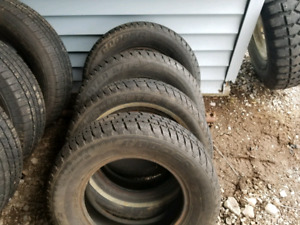 """Mud and snow tires 15"""""""