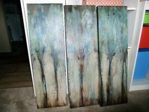 Tree picture canvas painted  -40