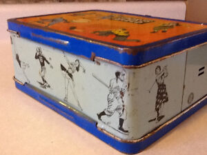 1957 OHIO SPORTS AFIELD METAL LUNCH BOX London Ontario image 4