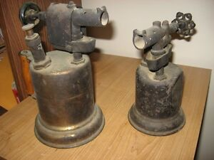 Antique blow torches