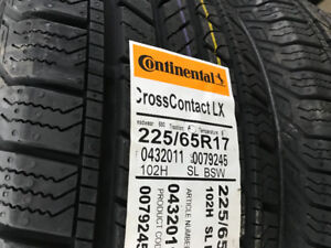 225/65r17 Continental Cross Contact LX ( Brand New )