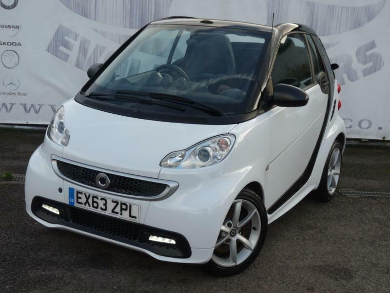 2013 SMART FORTWO CABRIO 1.0 EDITION 21 MHD LOW MILEAGE ELECTRIC POWER HOOD FREE