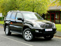 09 REG TOYOTA LAND CRUISER 3.0 D-4D INVINCIBLE 5DR WITH TOP SPEC+FSH+LOW MILES!+