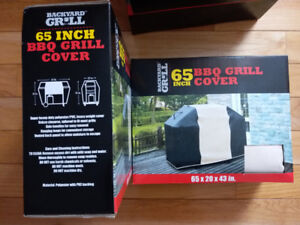 """NEW: BACK YARD GRILL """"65 inch"""" BBQ GRILL COVER"""