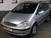 2005 05 FORD GALAXY 1.9 TDi 150 BHP GHIA DIESEL MPV 7 SEATS Rear Child/Boosters