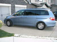 2007 HONDA ODYSSEY EX-L, 170KMS, In Great Condition