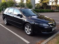 Mazda6 2.0 Petrol Black 2006 Full History and Long MOT