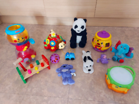 Set of kids toys