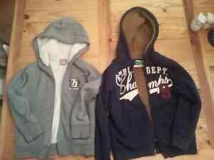 three polar jackets