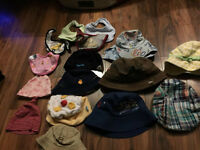 nfant to toddler hats smallest to largest $1-$2 each