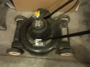 Black&Decker Electric lawnmower in very good condition