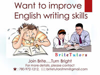 Brite Tutors- English (Writing and Reading)