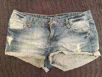 Women's denim H&M shorts size 12