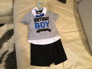 Boys birthday outfit 9 - 12 months