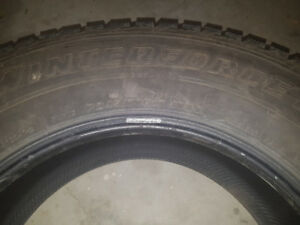 4 Good as New Firestone Winter Tires