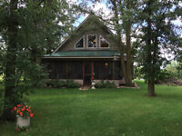 Family Cottage Available This Fall at St. Malo Lake