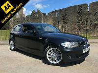 2008 58 BMW 118 2.0d M Sport Black 3 Door FSH
