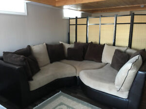 Sectional 3 piece couch