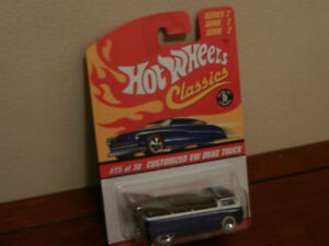 Hot Wheels Classics Customized VW Drag Truck Blue